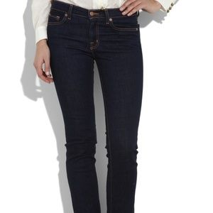 J. Brand Straight Leg Jeans Dark Wash